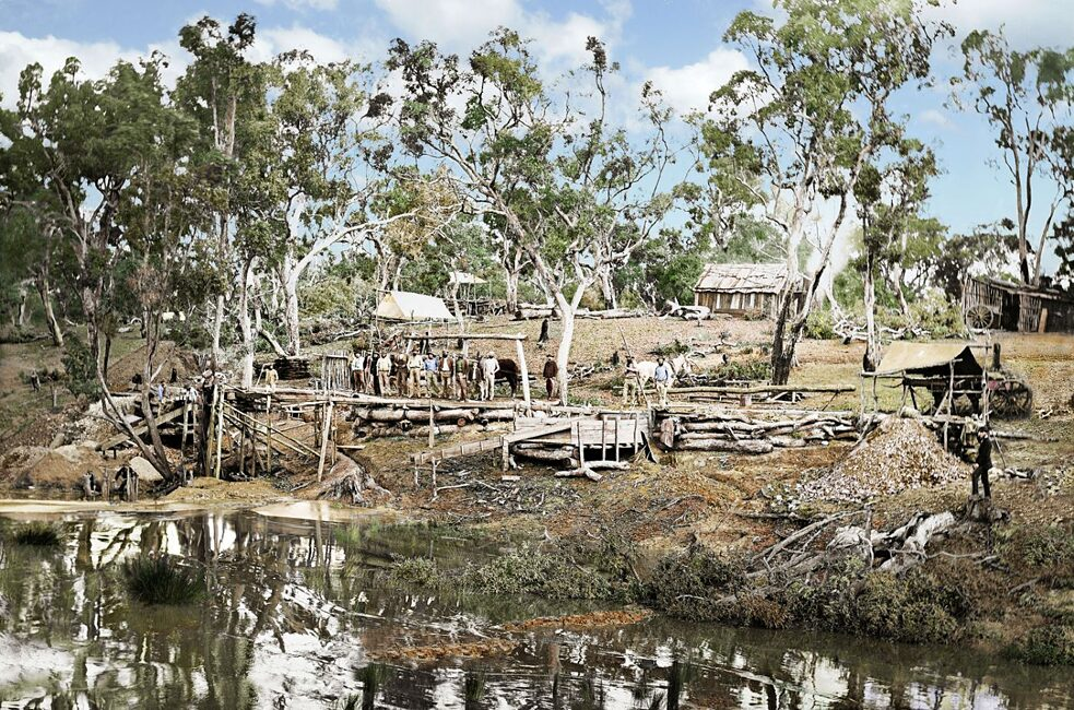 Re-coloured Gulgong image from Chris Dingle