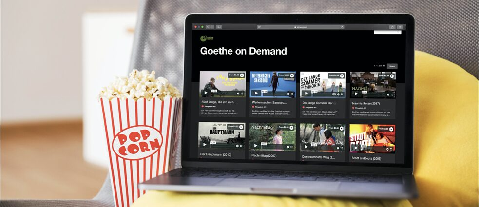 Goethe on Demand Cover