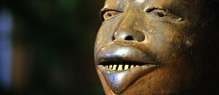 Provenance: The Makonde mask was purchased by the Barbier-Mueller Museum in Geneva in 1985 and was later identified as an item that had been stolen in Dar es Salaam and as a result, the mask was handed back to the National Museum of Tanzania in 2010.