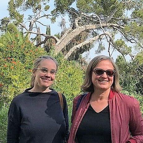 Friederike Meyer und Doris Kleilein aus Berlin