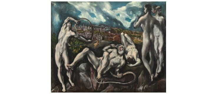Laocoon, El Greco, 1610-1614, 137 x 172 cm, National Gallery of Art, Washington