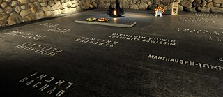 The Hall of Remembrance at the Yad Vashem Holocaust Memorial in Jerusalem (Israel)