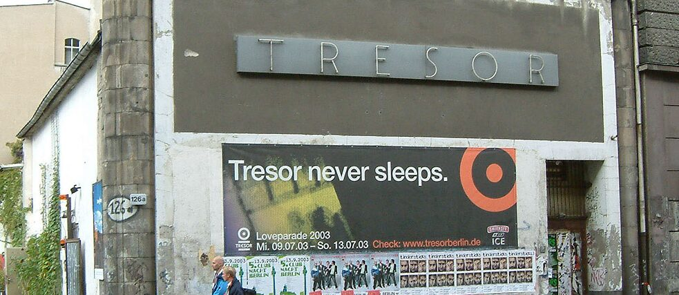 Tresor (Club) i Berlin, september 2003