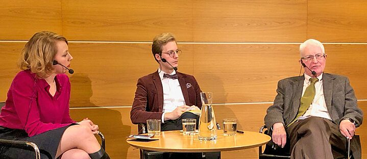 Discussion: Erich Weede (University Bonn) , ​Caspian Rehbinder (Timbro) Katrine Marçal (Journalist)