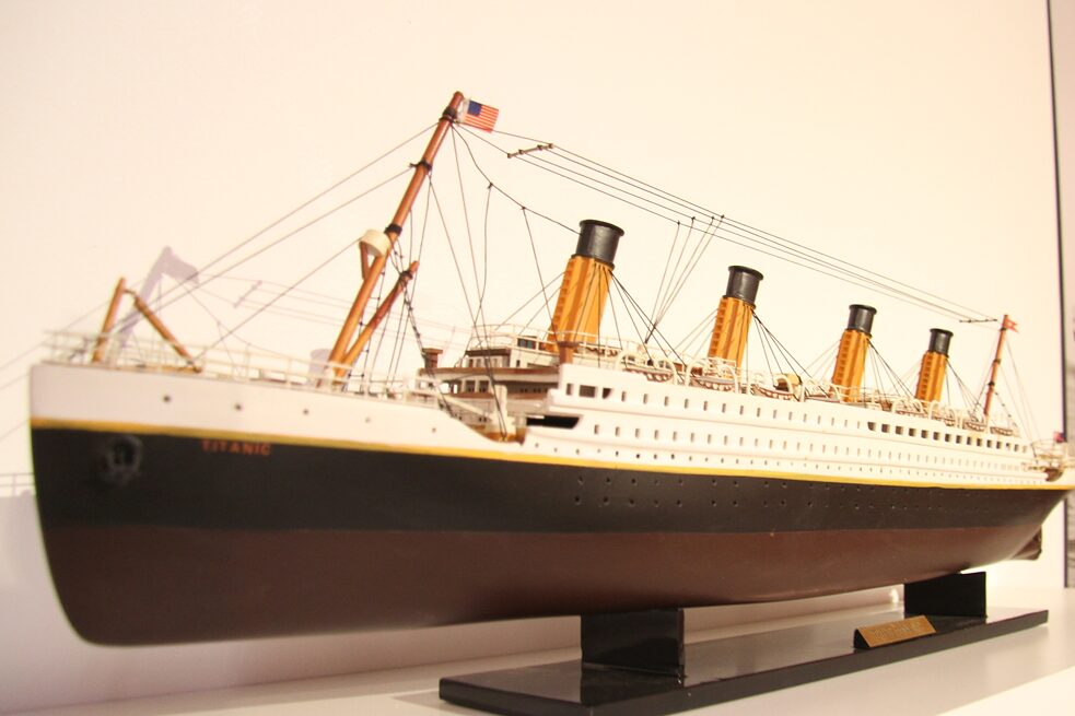 "The Titanic / 1912 – It seems incredible to us today that anyone could believe that 70,000 tons of steel could be unsinkable, and specifically that the Titanic could be unsinkable, but that was the conventional wisdom of 1912 belief. The shipbuilders Harland and Wolff insist that the Titanic was never advertised as an unsinkable ship. They claim that the ""unsinkable"" myth was the result of people's interpretations of articles in ""Irish News"" and ""The Shipbuilder."" They also claim that the myth grew after the disaster. Yet, when the New York office of the White Star Line was informed that Titanic was in trouble, White Star Line Vice President P.A.S. Franklin announced, ""We place absolute confidence in the Titanic. We believe the boat is unsinkable."" By the time Franklin spoke those words, Titanic was at the bottom of the ocean."
