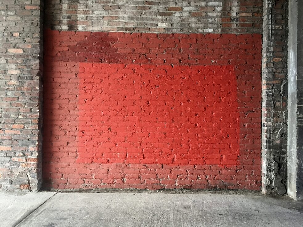 The Subconscious Art Of Graffiti Removal: A conservative buff with mismatched paint creates a new minimalist painting.