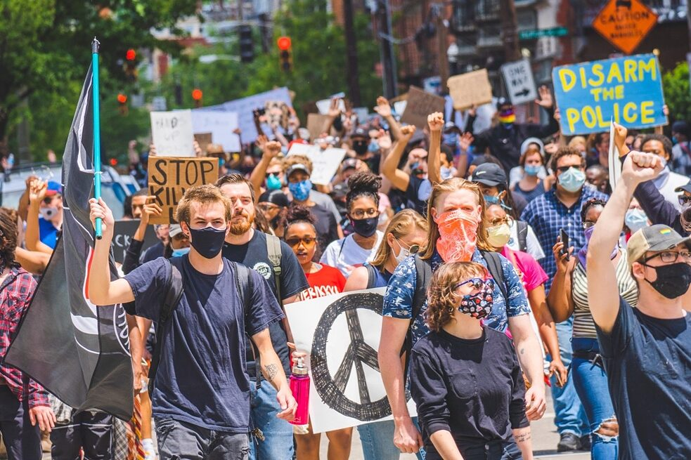 Black-Lives-Matter-Demonstration in Cincinnati