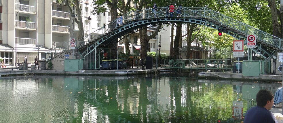 Canal Saint-Martin (Paris, France)