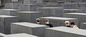 O Memorial aos Judeus Assassinados da Europa: Memorial do Holocausto em Berlim, Alemanha