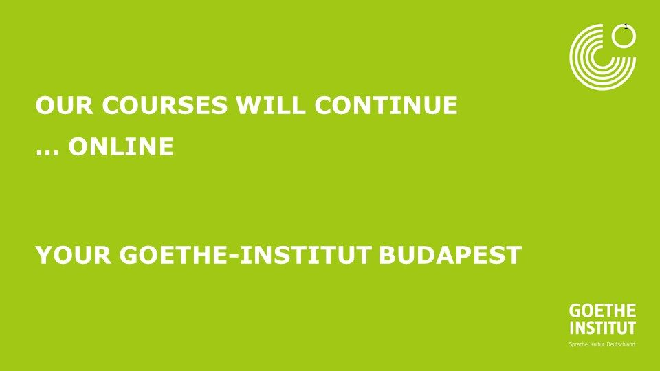 Intensiv Online Course 1.