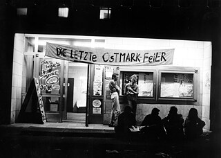 Party in Ostberlin 1990