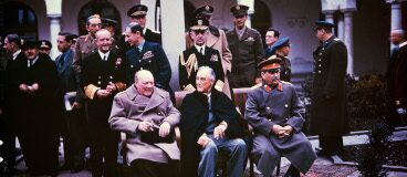 Conferencia de Yalta 1945: Churchill, Stalin, Roosevelt