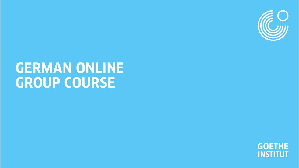 German Online Group Course