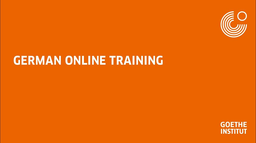 German Online Training