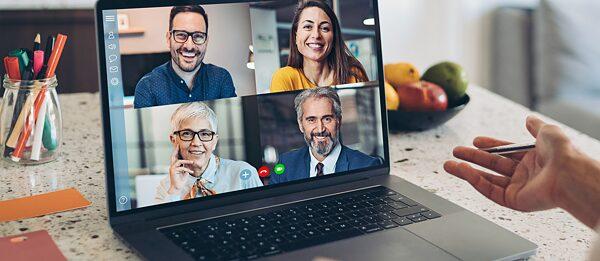 Online-Bildungskonferenz