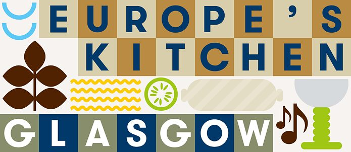 Logo of the project Europe's kitchen Glasgow