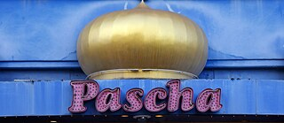 The Pascha Nightclub in the red light district of Cologne in the Hornstraße