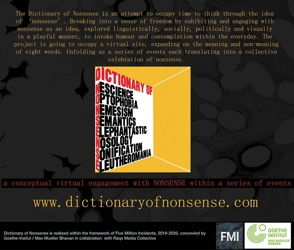 The Dictionary of Nonsense © Krishnapriya CP & Narendran K