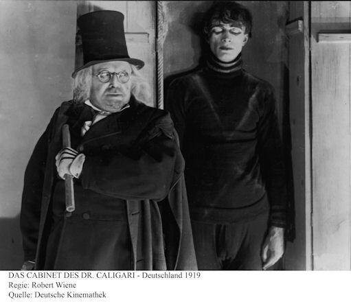 """""""Das Cabinet des Dr. Caligari"""", reż. Robert Wiene"""