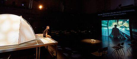 """Das Theaterstück """"Borderline"""" ist eine deutsch-koreanische Produktion."""