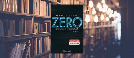 "Book Club ""Zero"" von Marc Elsberg"
