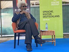 Wole Soyinka in a chat at Goethe-Institut