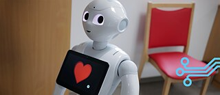 "What if he makes a mistake? The humanoid robot ""Pepper"" works in a nursing home in Erlenbach."