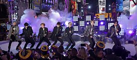 "The K-Pop band, BTS, was named ""Entertainer of the year 2020"" by Time Magazine."