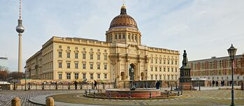 Humboldt Forum, facciata occidentale