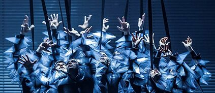 """Zero"" by Nanine Linning at the Theater Heidelberg with costumes by Iris van Herpen"