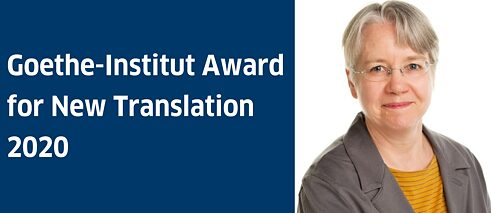 Kay McBurney, winner of the Goethe-Institut Award for New Translation 2020