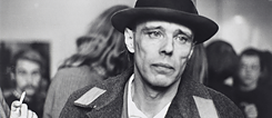 In the documentary 'Beuys: Art as a Weapon' filmmaker and documentarian Andres Veiel points out that provocation and challenge were as much Beuys' tools of his trade as the items and objects he turned into sculptures and installations