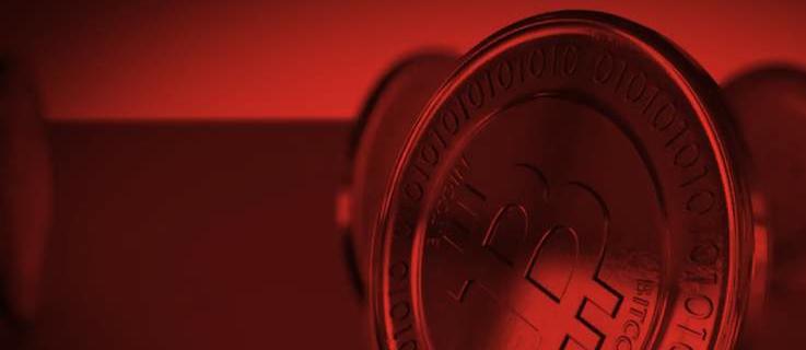 """Durch ihre Mining-Aktivitäten ist die Volksrepublik China zuletzt zum weltweit der größten Bitcoin-Produzenten geworden. Für die Mixed-Media-Installation """"Chineses Coin (Red Blood)"""" hat das Künstlerpaar UBERMORGEN.COM eine chinesischen Bitcoin-Mining-Fabrik besucht und dort gefilmt."""