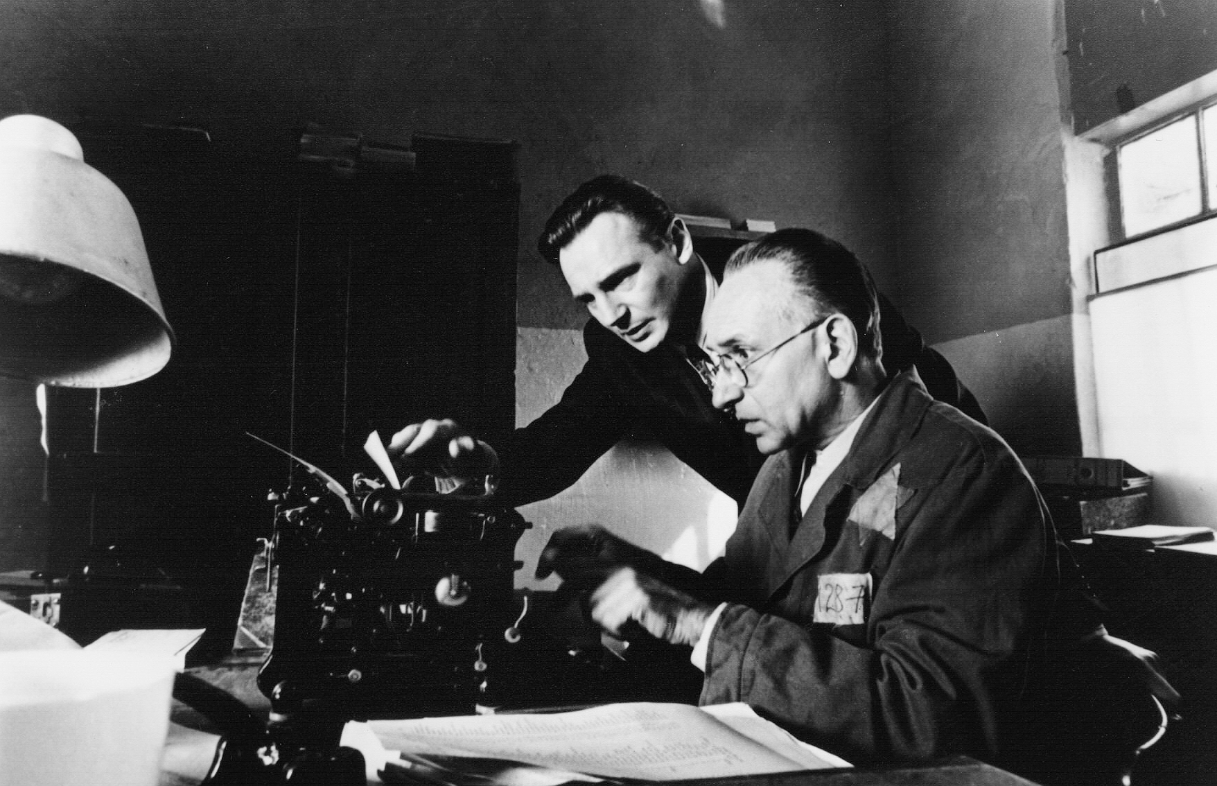 "<b>""Schindlers List""</b> <br>Steven Spielberg's film about German industrialist Oscar Schindler, who saved 1,200 Jews from death in extermination camps during the Nazi era, triggered a new wave of dialogue about the Holocaust in 1994. The merciless portrayal of the violence and brutality of the concentration camps left many cinema goers shocked and in tears.  For Spielberg, the film was a way to process his own family history, as many of his relatives died in German concentration camps, and he kept none of the proceeds from the film. Shot in original locations, the film was nominated for twelve Oscars and won seven. The real Oscar Schindler died virtually destitute in 1974, supported by the Jews he saved until his death. Schindler was awarded the German Federal Cross of Merit 1st class in 1965, and Spielberg received an even higher honor, the Great Cross of Merit with Star, for his film adaptation."