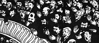 Woodcut by Félix Vallotton