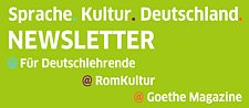 Newsletter des Goethe-Instituts Rom