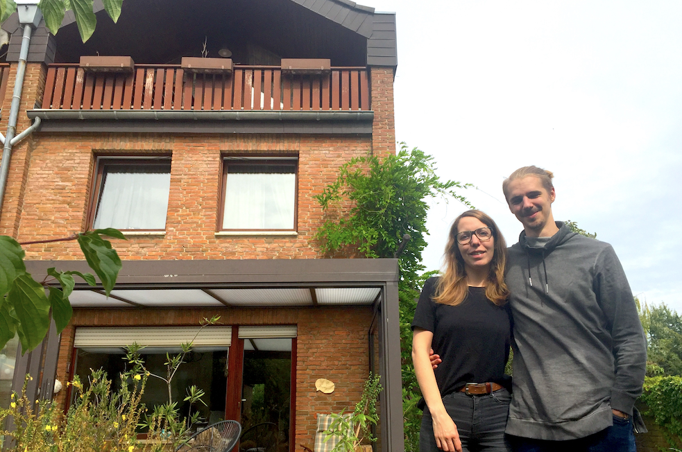 "<b>A home of their own</b><br><br> Philipp and girlfriend Ivonne bought his parents' 159 -square -meter home in Cologne at the end of 2015. They let two of the four rooms to earn enough to cover the mortgage. It's not always easy and some students would be put off by the some 15 kilometres to campus. Philipp und Ivonne don't mind though. ""We love having all this space and peace and quiet,"" Philipp says, ""and a comfy hammock in the garden in the evening."""