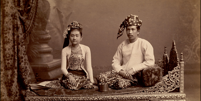 Burmese couple