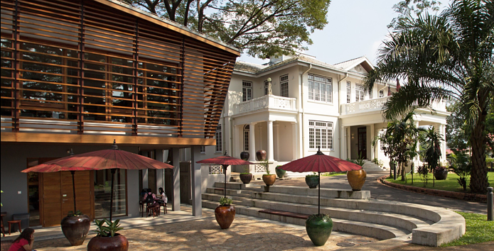 The new Goethe Villa