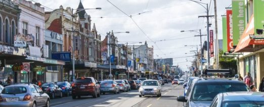 The old Melbourne stomping grounds in Brunswick on Sydney Road