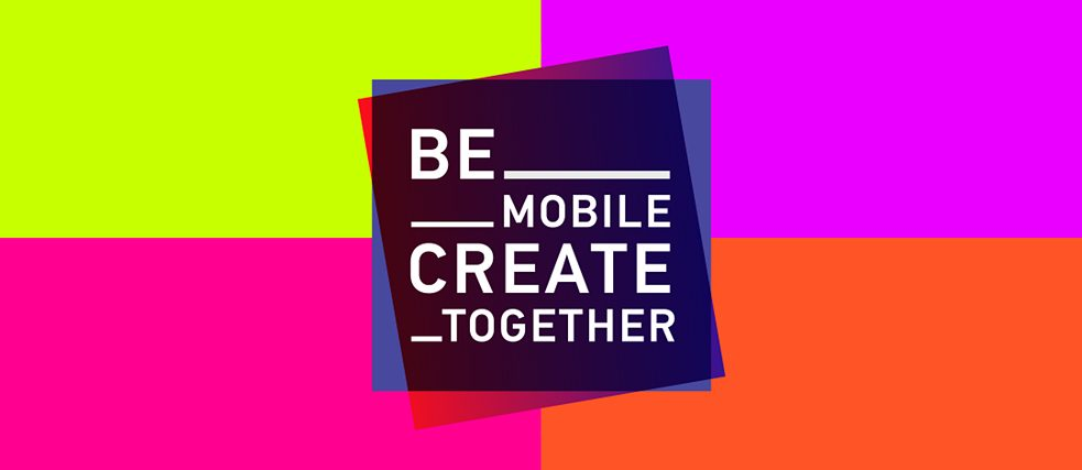 Projektlogo - Be mobile-Create together!