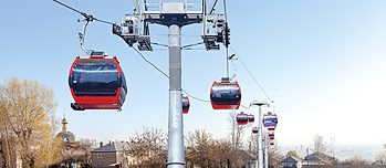 Severodonetsk. The Cable Car