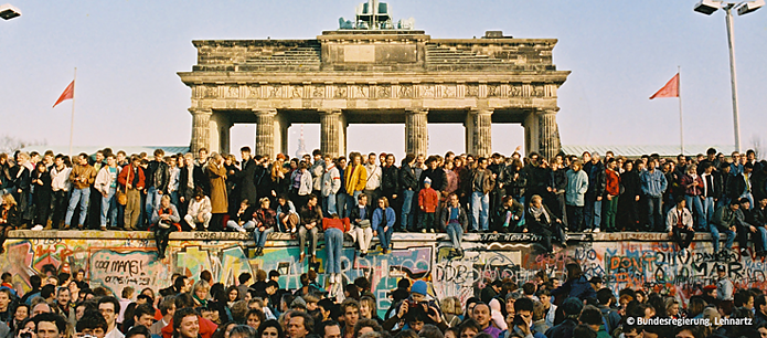 9. November at Brandenburg Gate