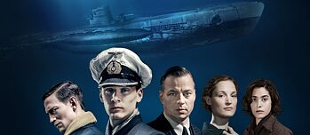 "Titelimage ""Das Boot"" SKY / Hulu Series Main Cast"