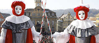 While other cities celebrate Carnival or Fasching, the residents of Hall get decked out in fantastic costumes to parade through the streets to the Hallia Venezia.