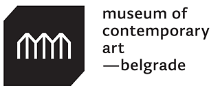 Logo Museum of contemporary art Belgrad