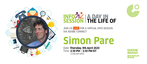 A Day in the Life Simon Pare - Info Session