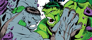 "Crop of Marvel Comics ""The Incredible Hulk"" # 376, ""Personality Conflict"""