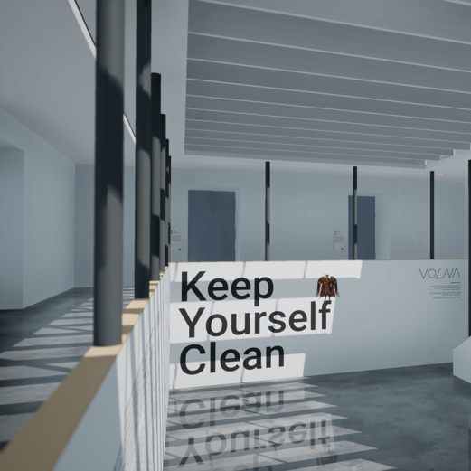Online Exhibition Keep Yourself Clean by VOLNA