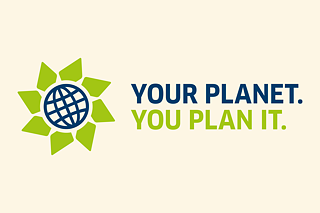 "Logo ""Your planet. You plan it."""